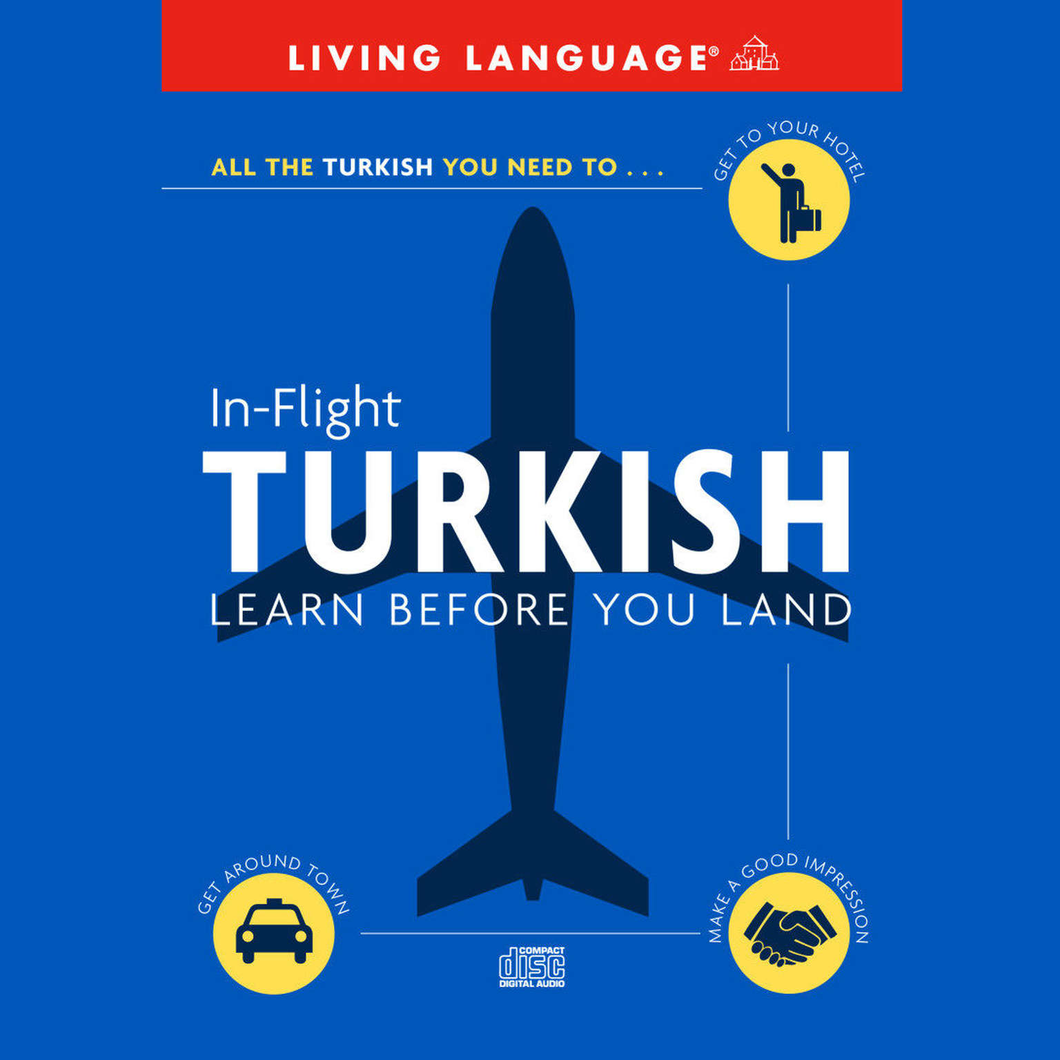 Printable In-Flight Turkish: Learn before You Land Audiobook Cover Art