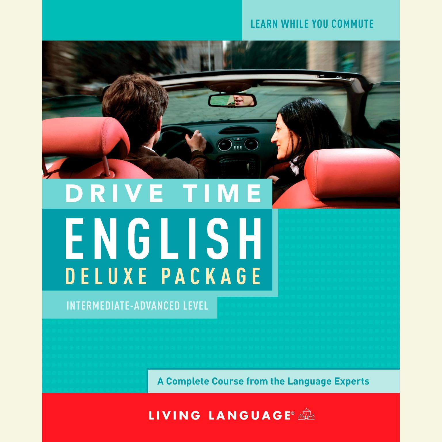 Printable Drive Time English: Intermediate Level Audiobook Cover Art