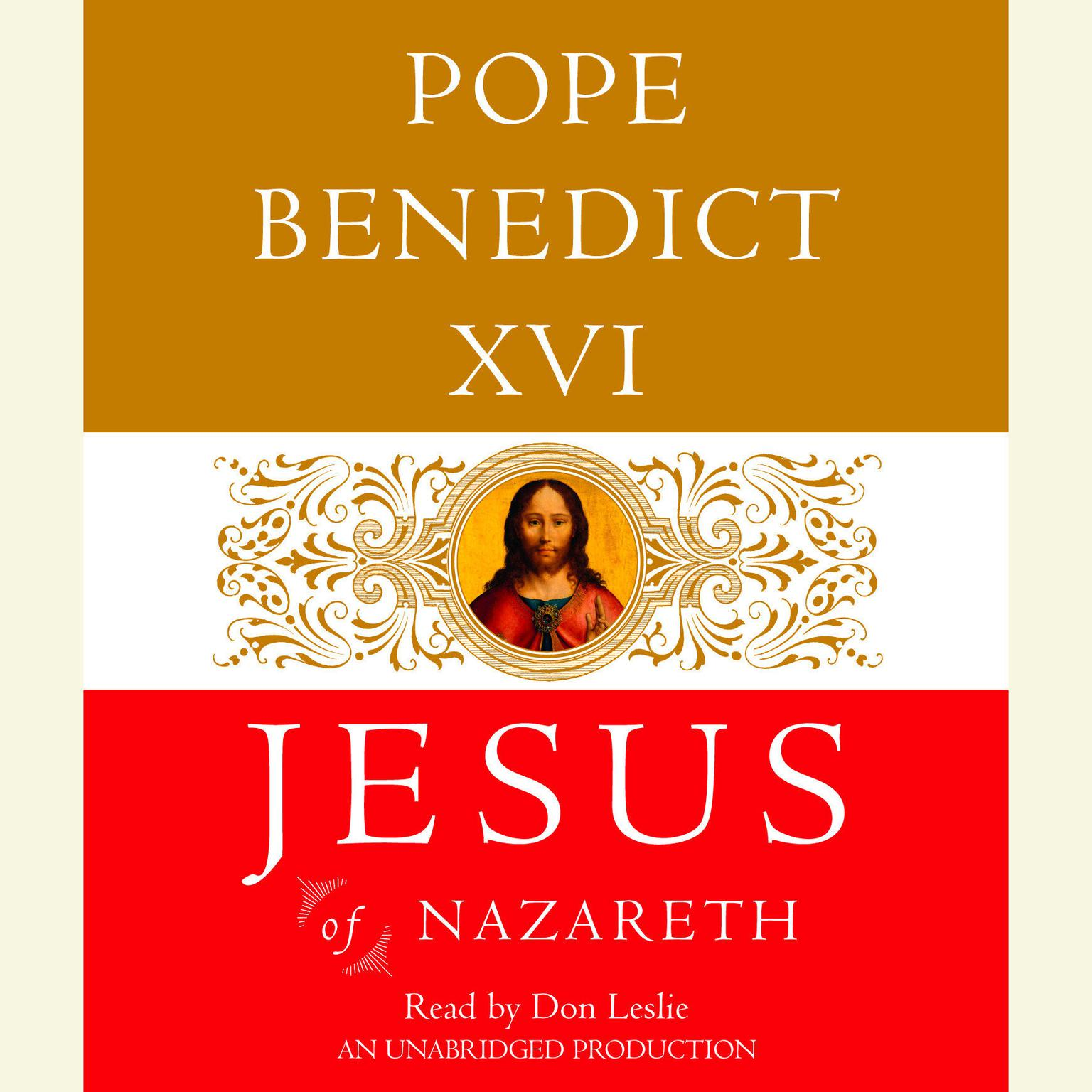 Printable Jesus of Nazareth: From the Baptism in the Jordan to the Transfiguration Audiobook Cover Art