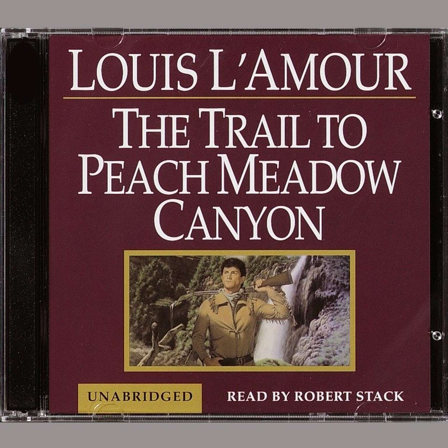 Printable A Trail to Peach Meadow Canyon Audiobook Cover Art
