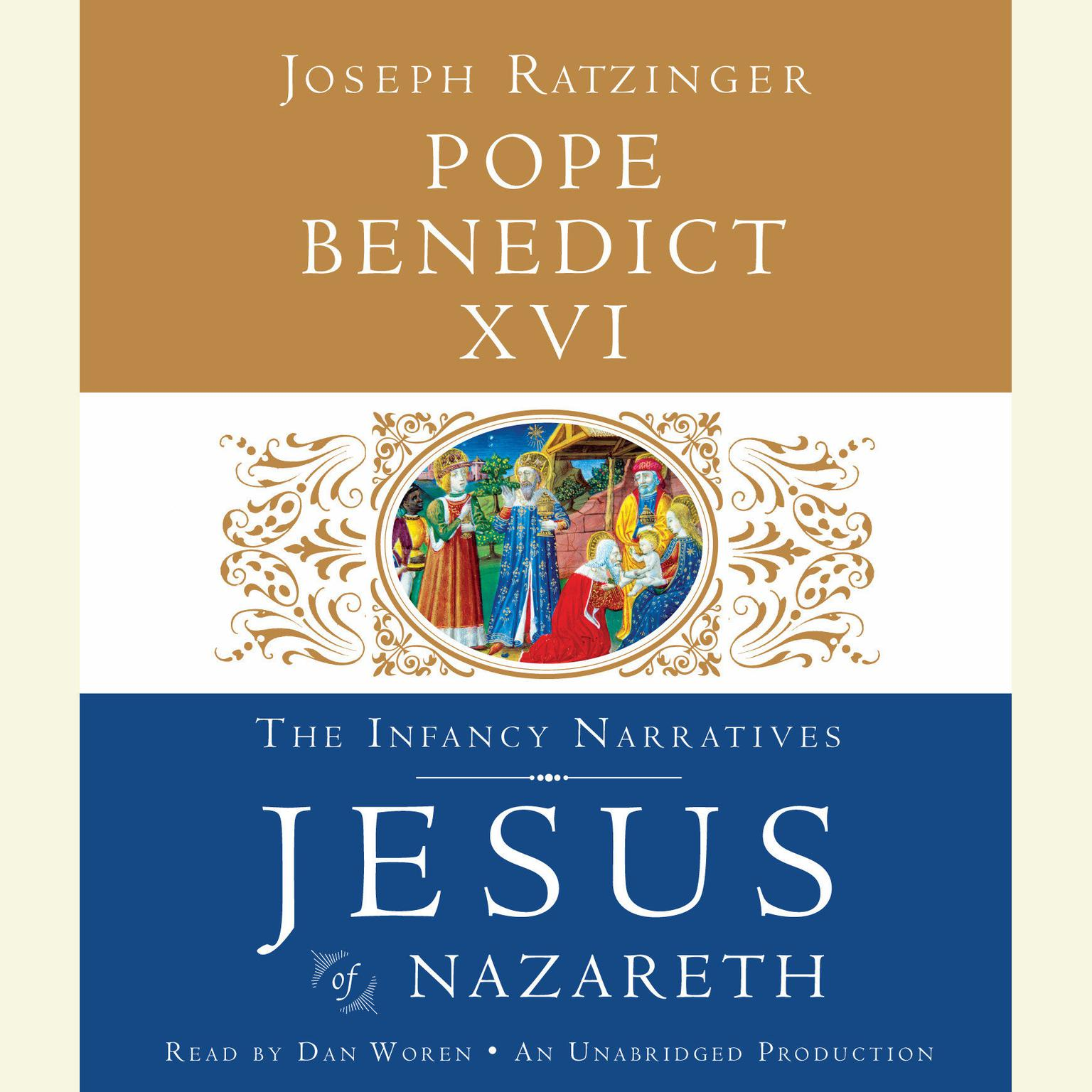 Printable Jesus of Nazareth: The Infancy Narratives Audiobook Cover Art