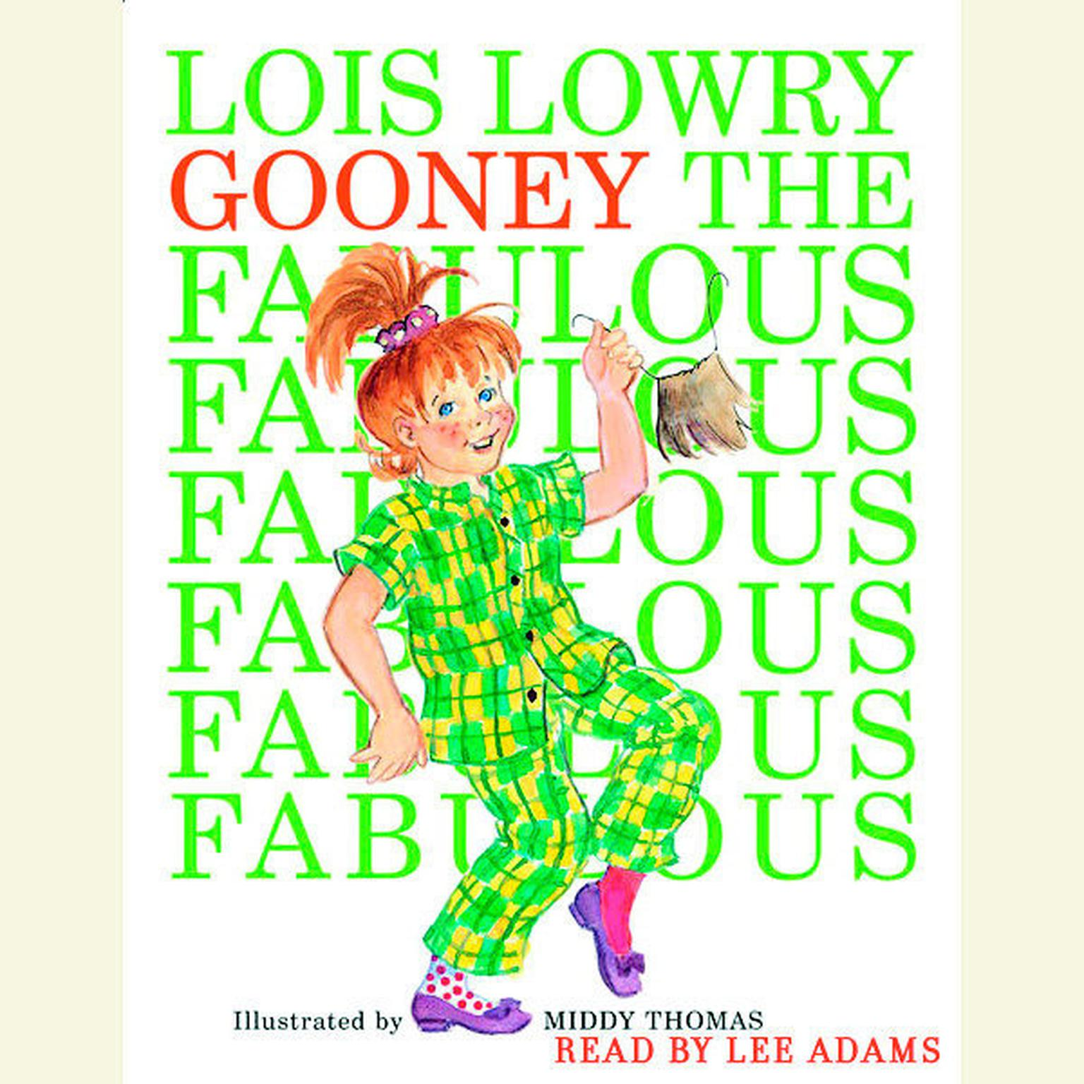 Printable Gooney the Fabulous Audiobook Cover Art