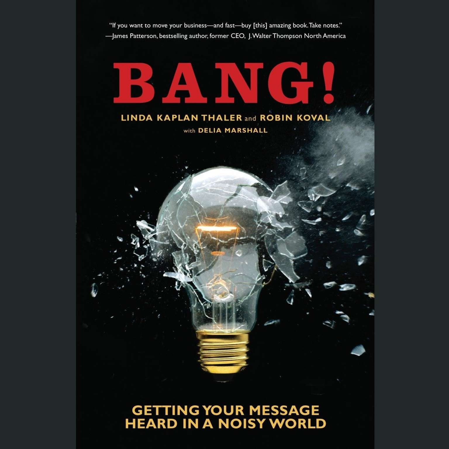 Printable Bang!: Getting Your Message Heard in a Noisy World Audiobook Cover Art