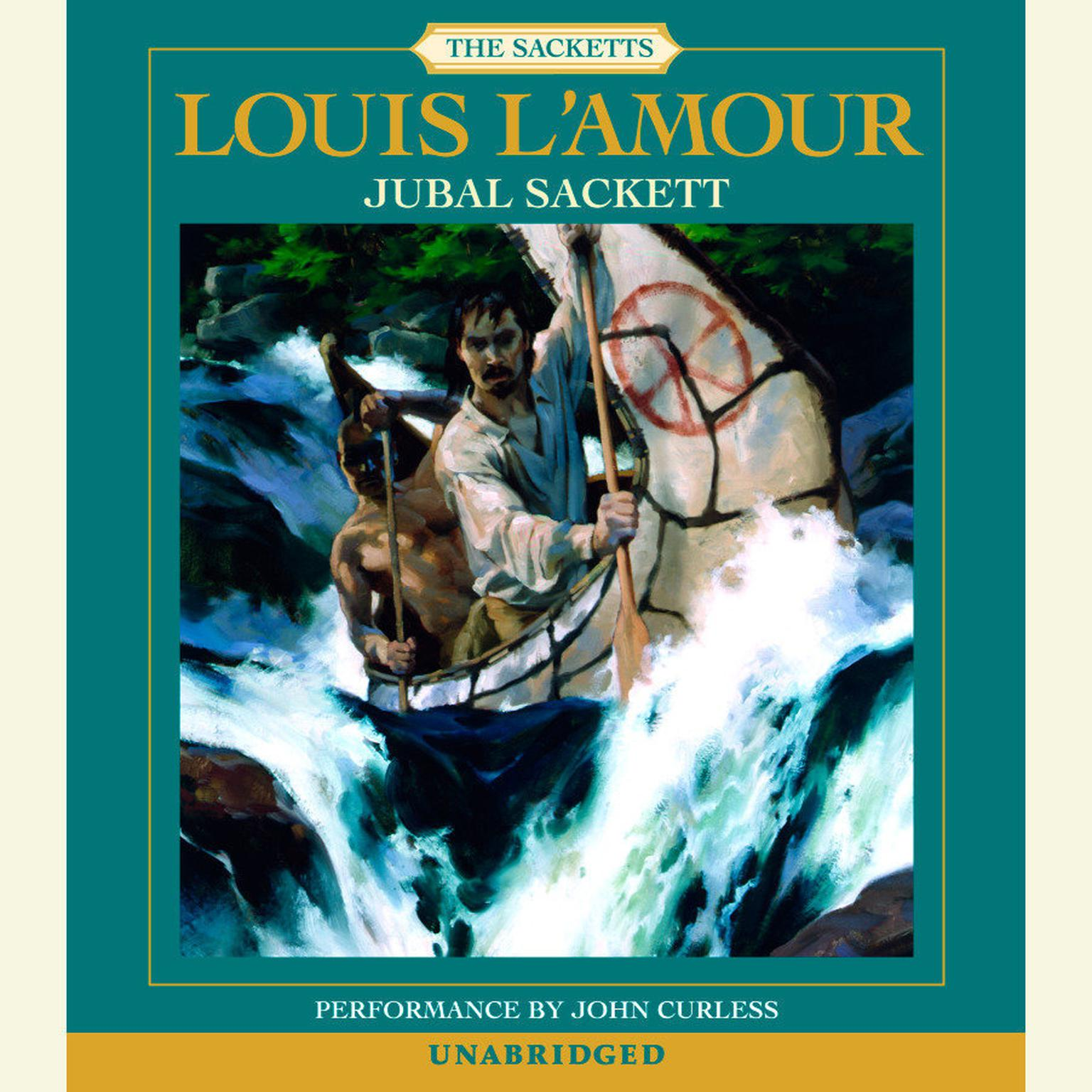 Printable Jubal Sackett Audiobook Cover Art