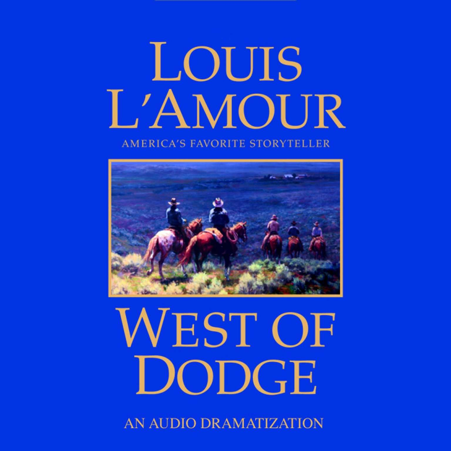 Printable West of Dodge Audiobook Cover Art