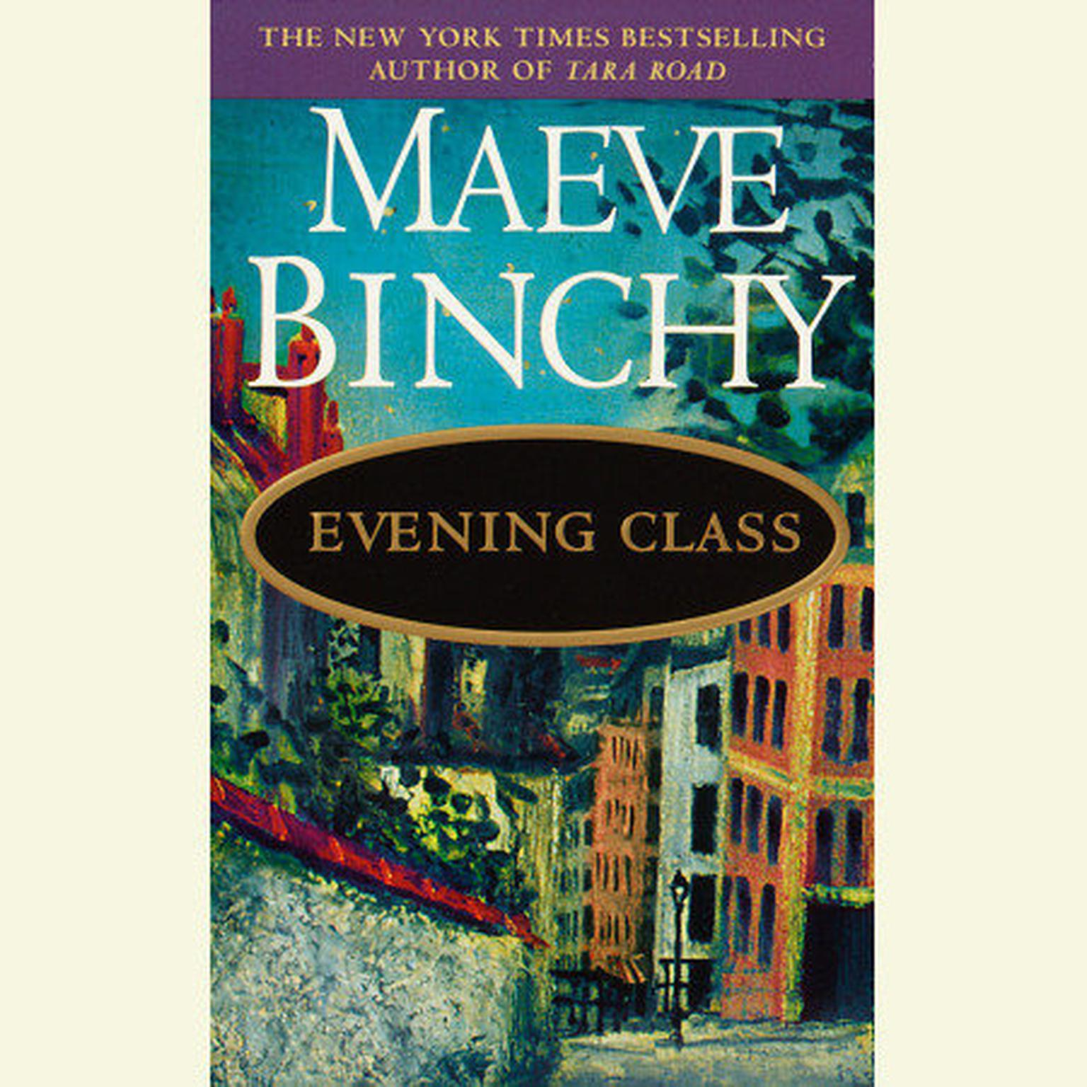 Printable Evening Class Audiobook Cover Art