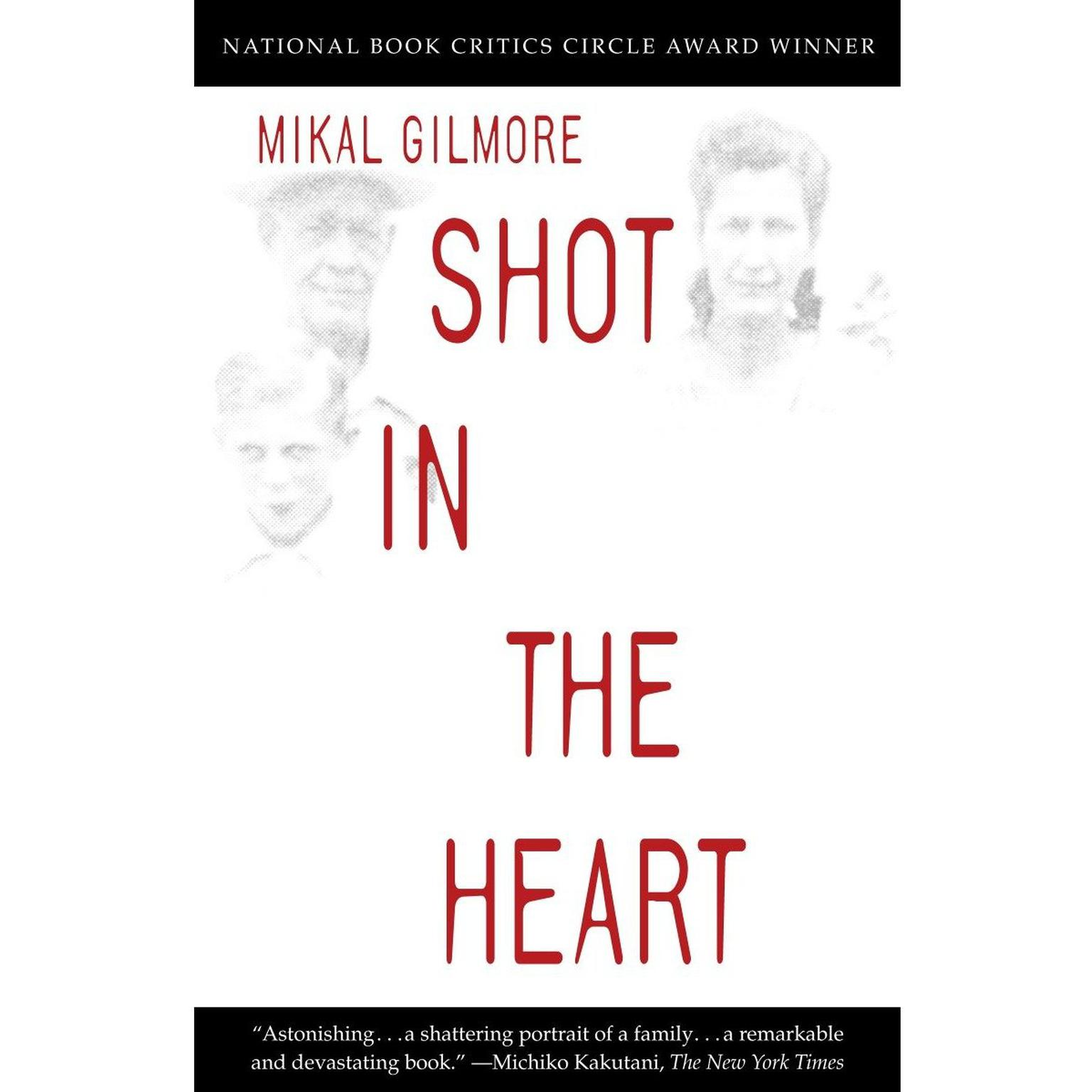 Printable Shot in the Heart Audiobook Cover Art