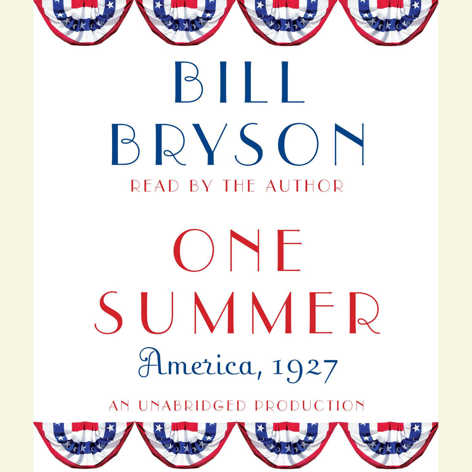 Printable One Summer: America, 1927 Audiobook Cover Art