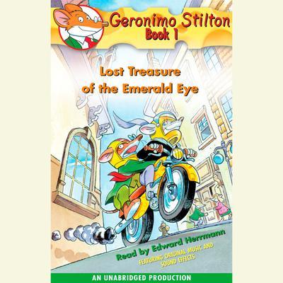 Geronimo Stilton Book 1: Lost Treasure of the Emerald Eye Audiobook, by