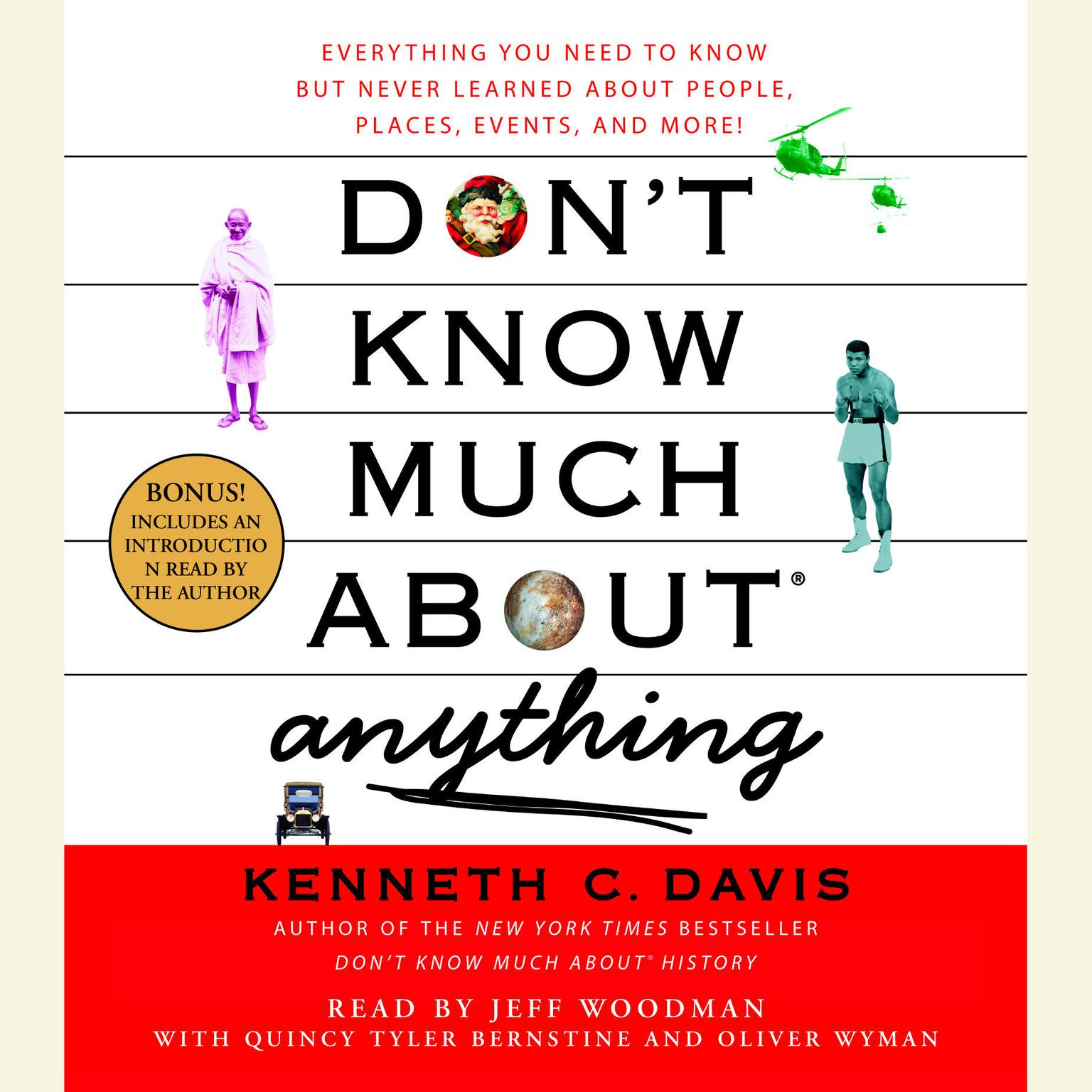 Printable Don't Know Much About Anything: Everything You Need to Know But Never Learned About People, Places, Events, And More! Audiobook Cover Art