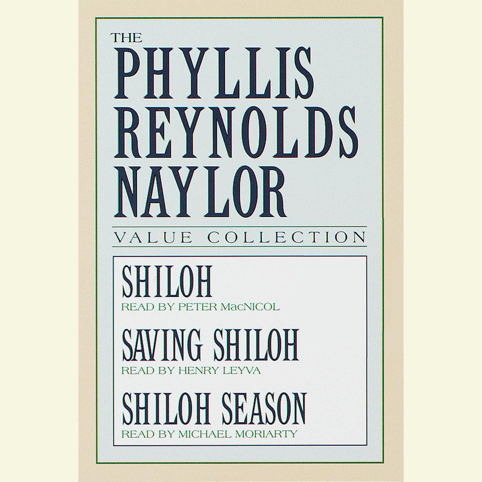 Printable Phyllis Reynolds Naylor Value Collection Audiobook Cover Art