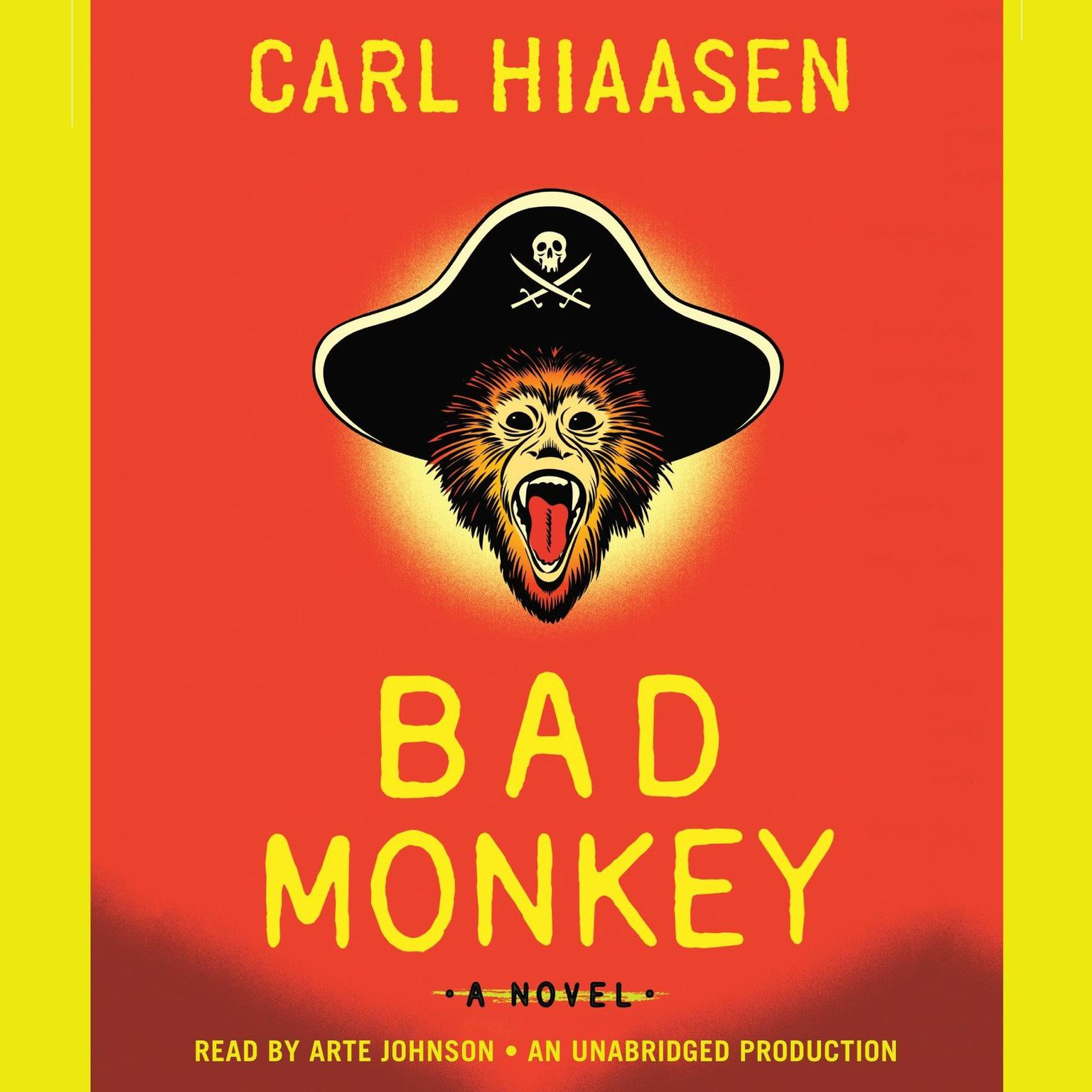 Printable Bad Monkey Audiobook Cover Art