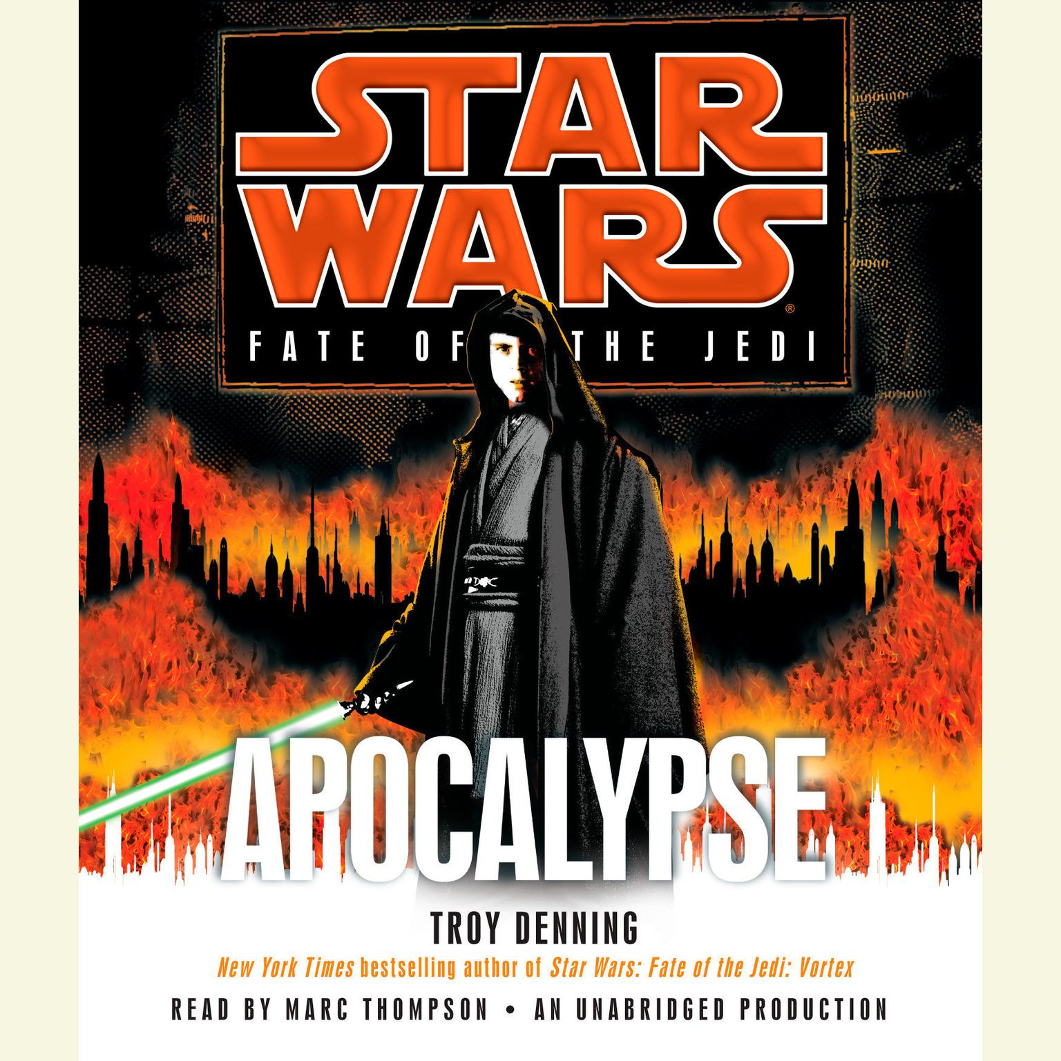 Printable Apocalypse: Star Wars (Fate of the Jedi) Audiobook Cover Art