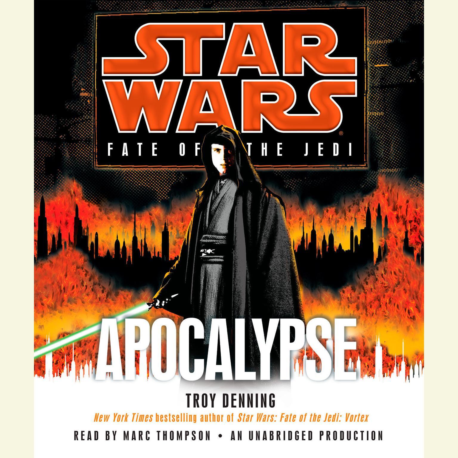 Printable Apocalypse: Star Wars Legends (Fate of the Jedi) Audiobook Cover Art