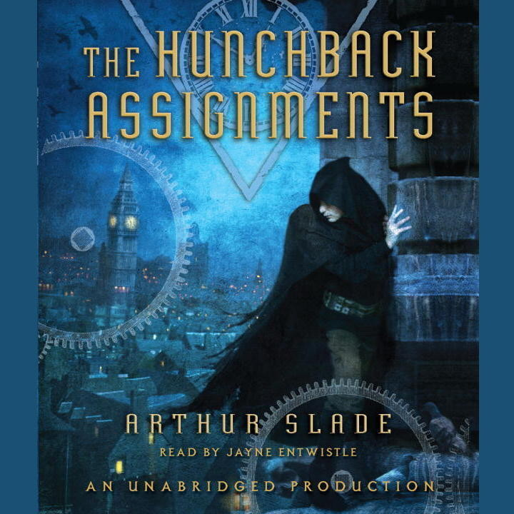 Printable The Hunchback Assignments Audiobook Cover Art