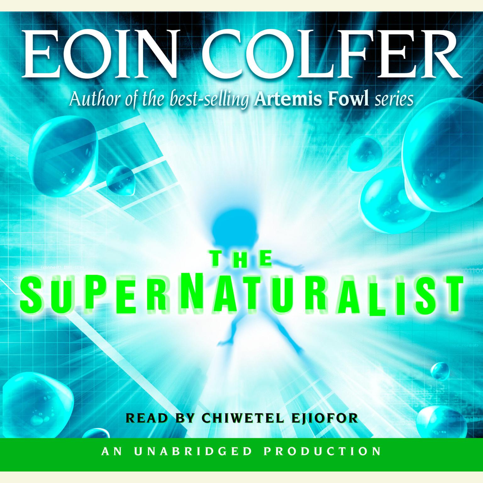 Printable The Supernaturalist Audiobook Cover Art