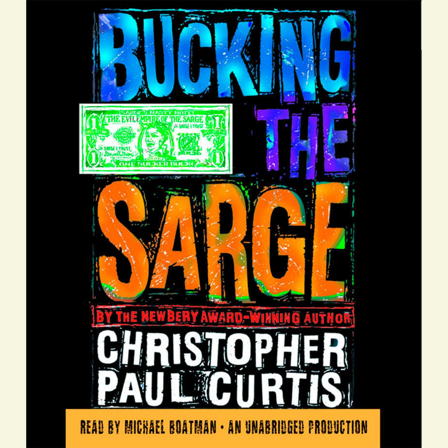 Printable Bucking the Sarge Audiobook Cover Art