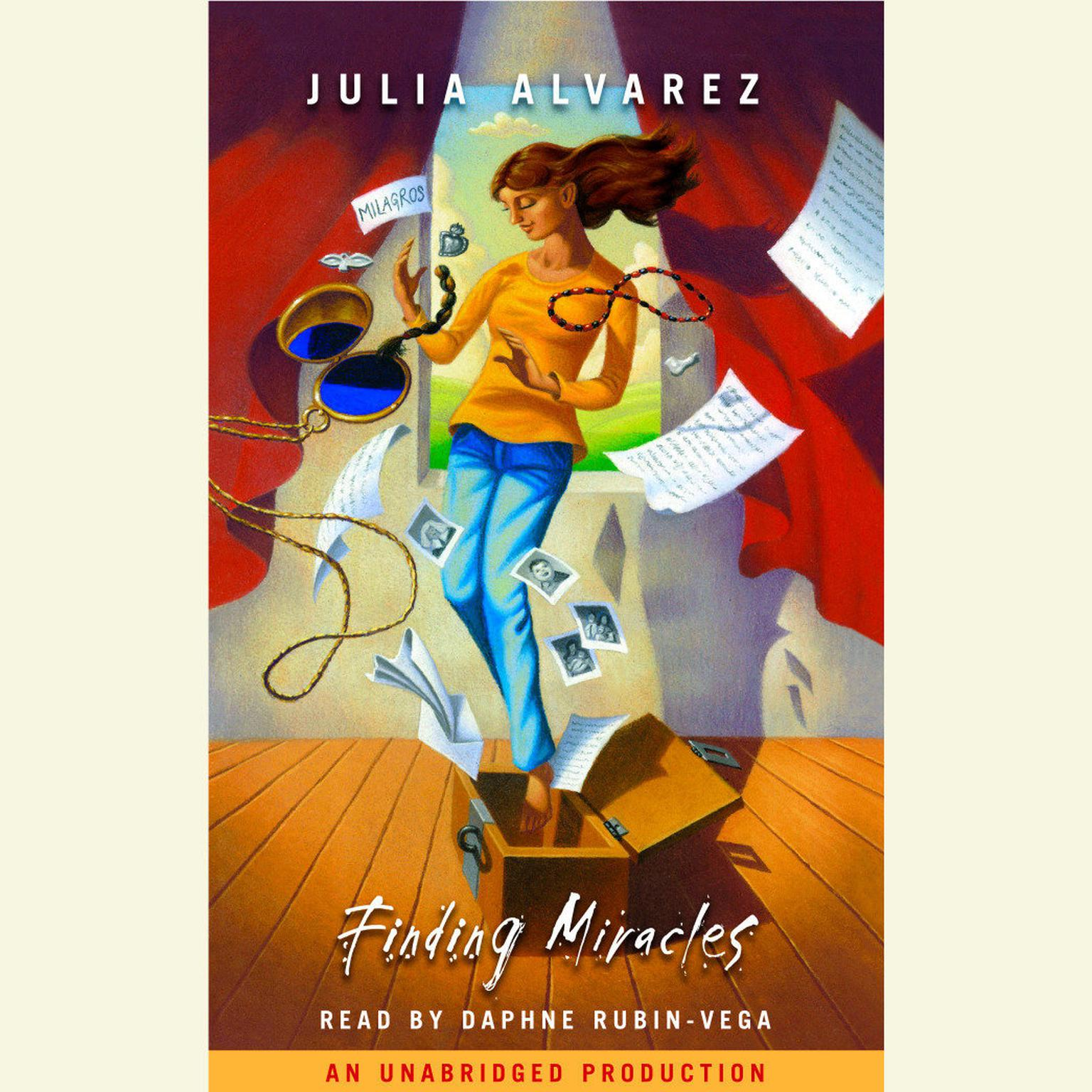 Printable Finding Miracles Audiobook Cover Art