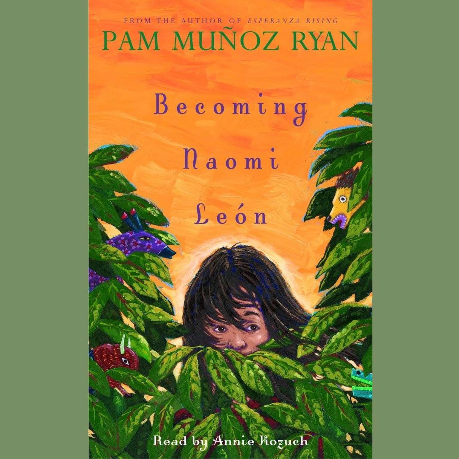 Printable Becoming Naomi Leon Audiobook Cover Art