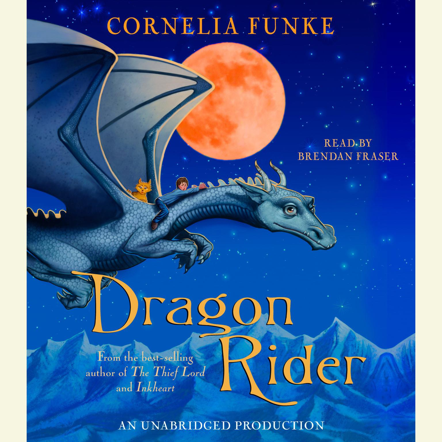 Printable Dragon Rider Audiobook Cover Art