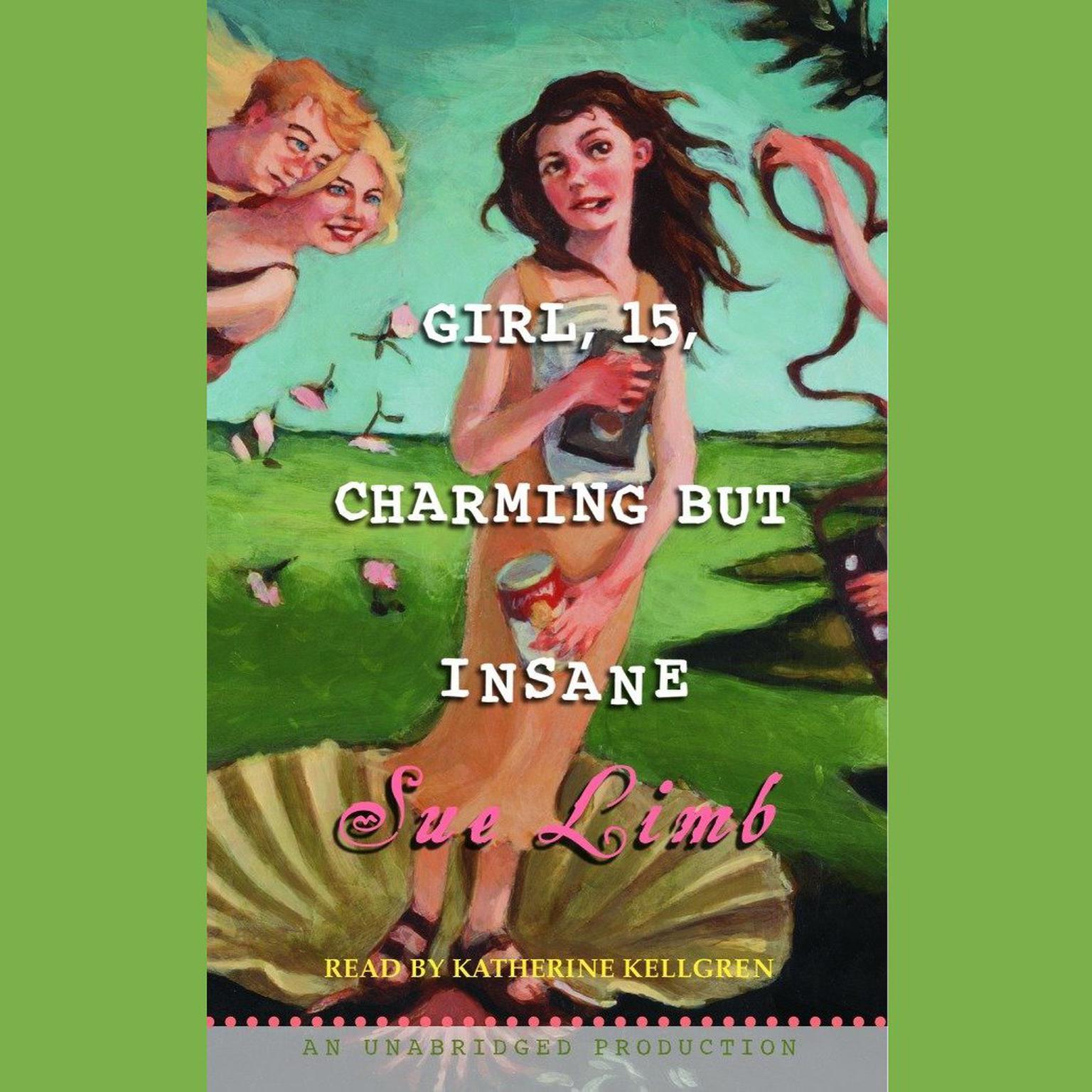 Printable Girl, 15, Charming but Insane Audiobook Cover Art