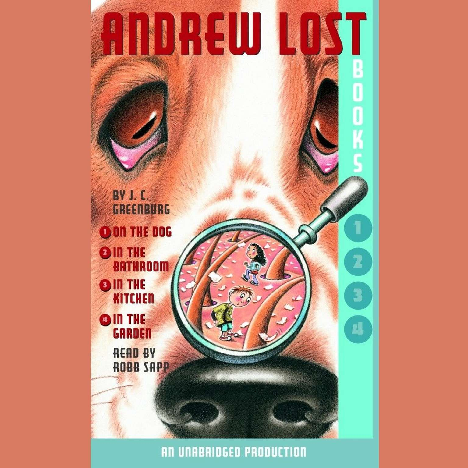 Printable Andrew Lost: Books 1–4 Audiobook Cover Art