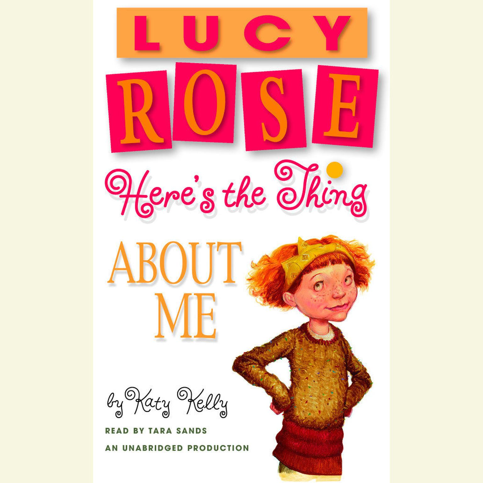 Printable Lucy Rose: Here's the Thing About Me Audiobook Cover Art