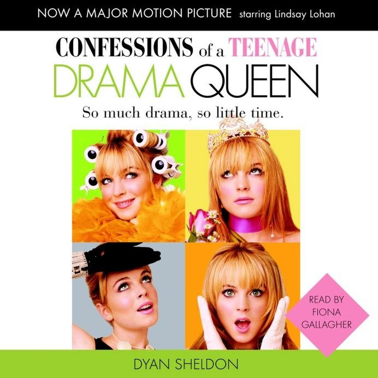 Printable Confessions of a Teenage Drama Queen Audiobook Cover Art