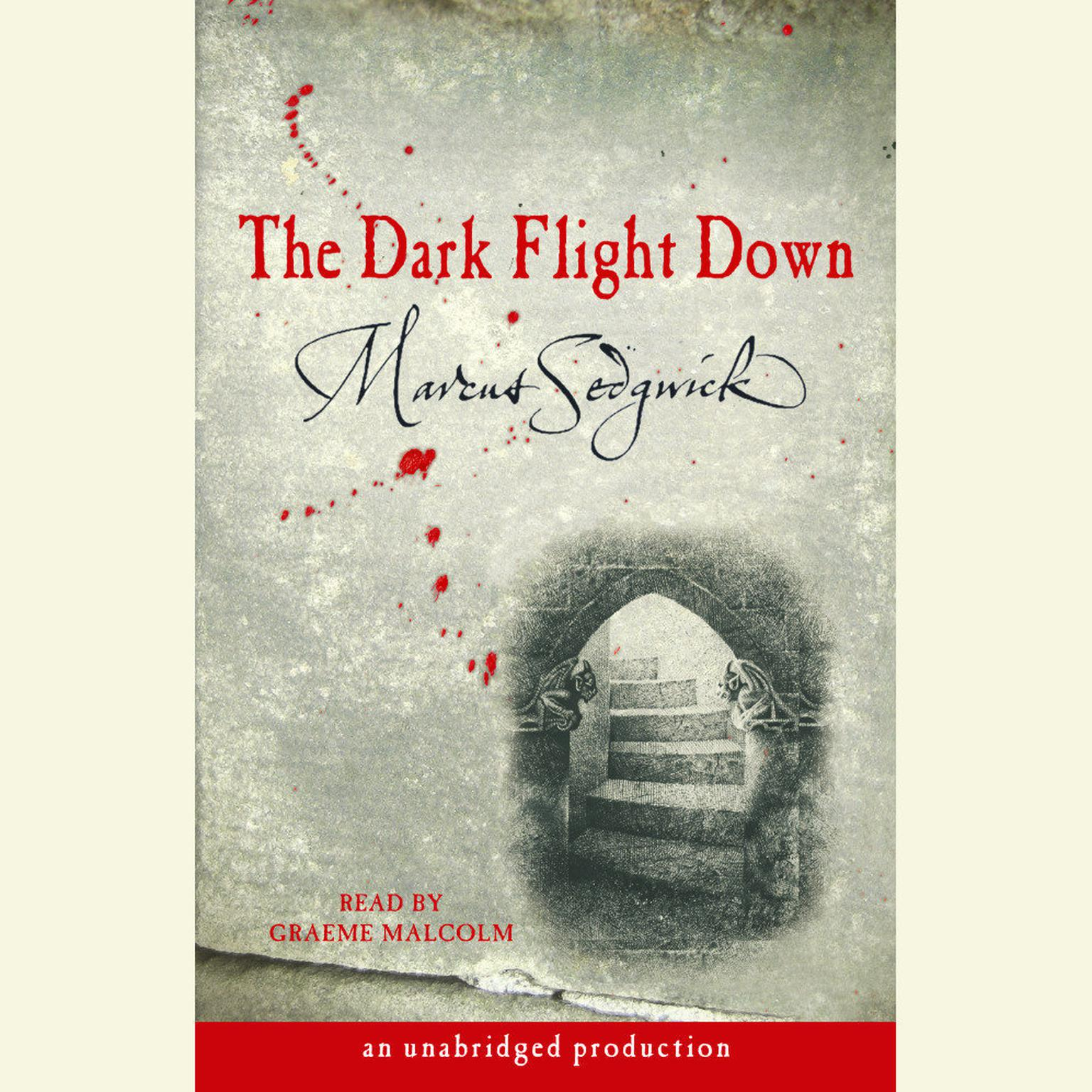 Printable The Dark Flight Down Audiobook Cover Art