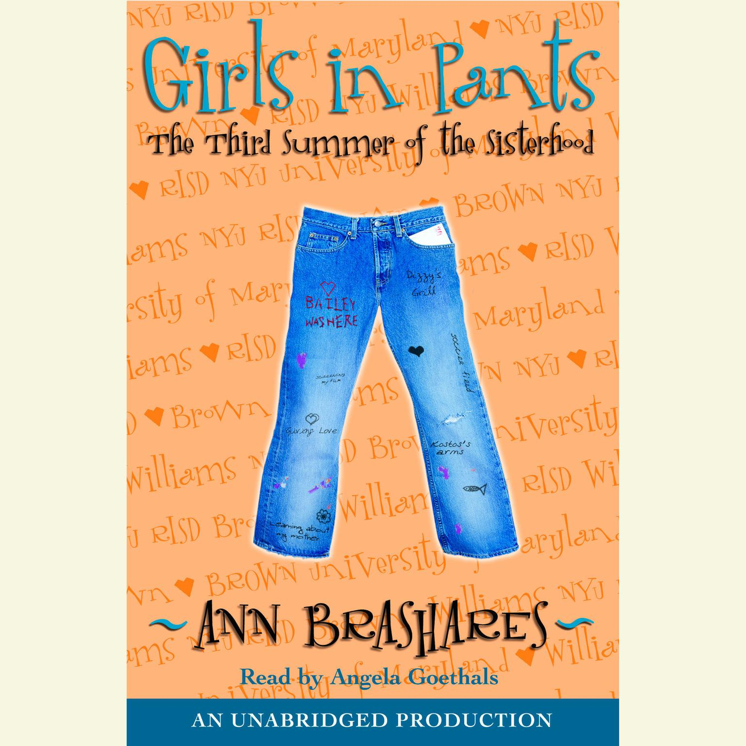 Printable Girls in Pants: The Third Summer of the Sisterhood Audiobook Cover Art