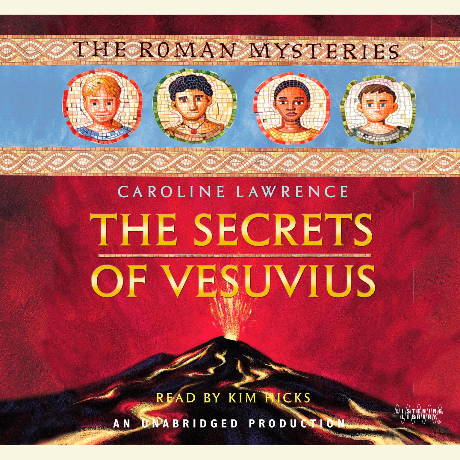 Printable The Secrets of Vesuvius: The Roman Mysteries Book 2 Audiobook Cover Art