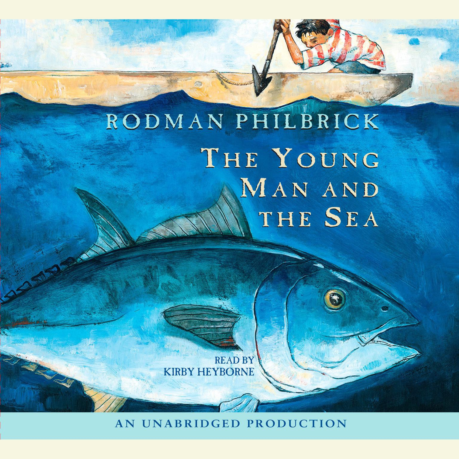 Printable The Young Man and the Sea Audiobook Cover Art