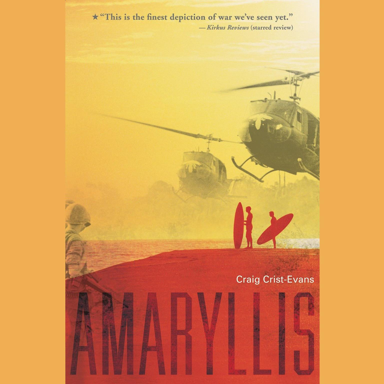 Printable Amaryllis Audiobook Cover Art