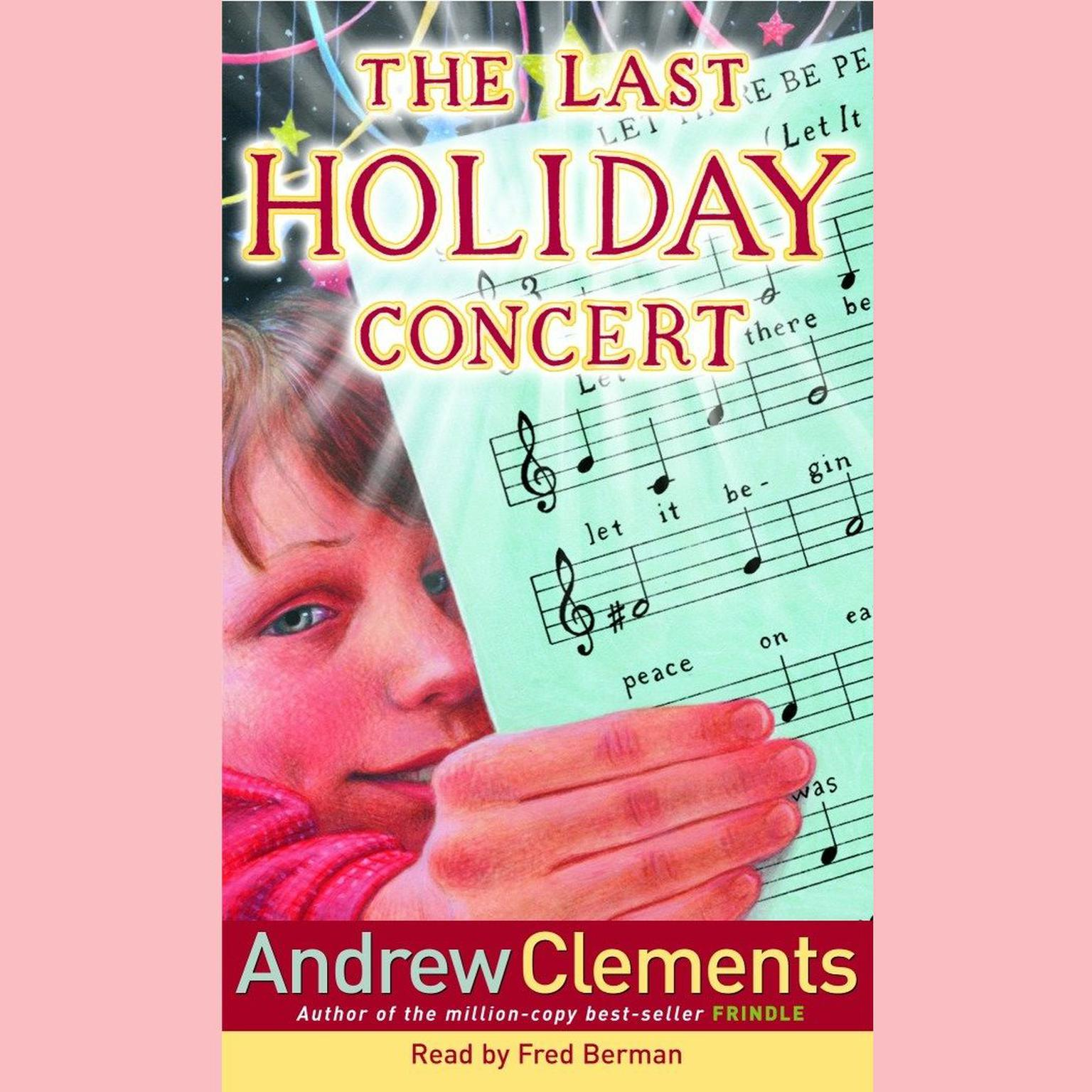 Printable The Last Holiday Concert Audiobook Cover Art