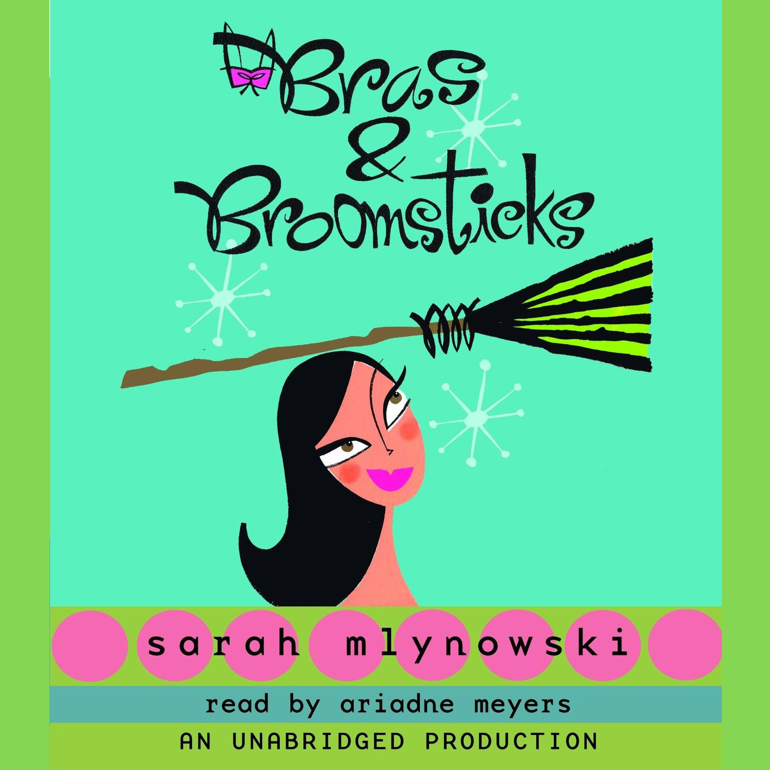 Printable Bras & Broomsticks Audiobook Cover Art