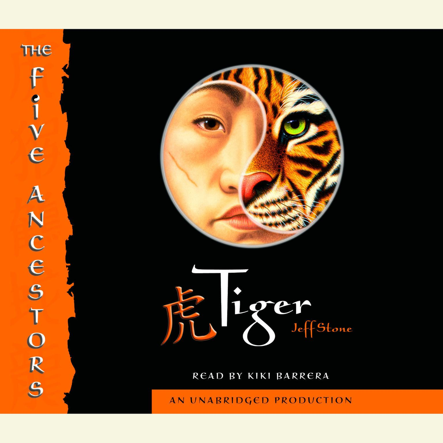 Printable The Five Ancestors Book 1: Tiger Audiobook Cover Art