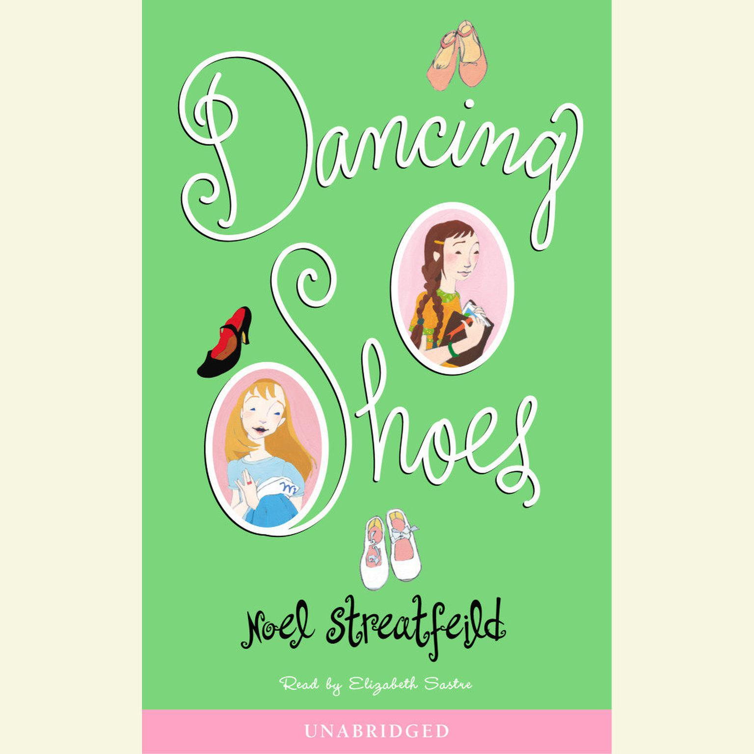 Printable Dancing Shoes Audiobook Cover Art