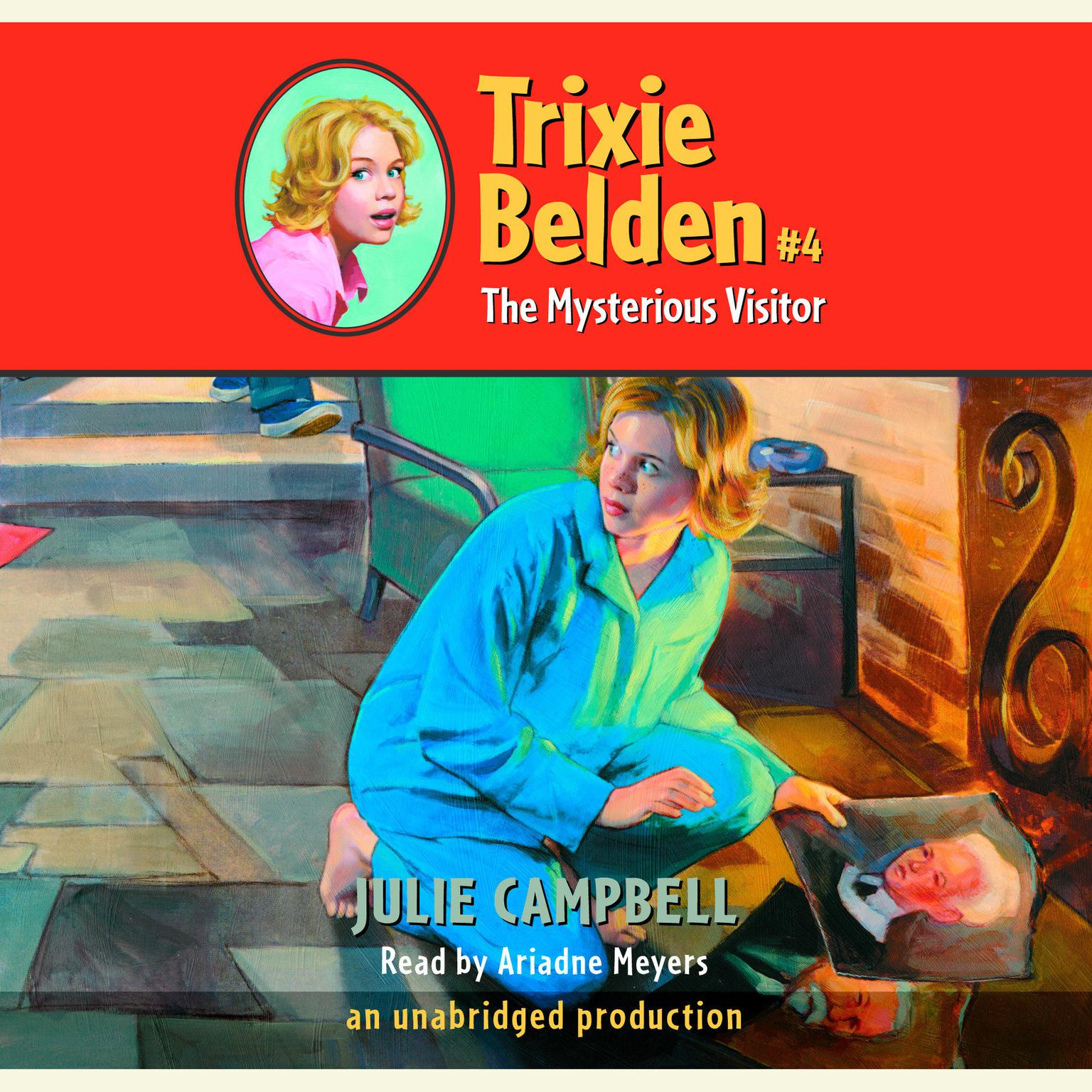 Printable The Mysterious Visitor: Trixie Belden #4 Audiobook Cover Art