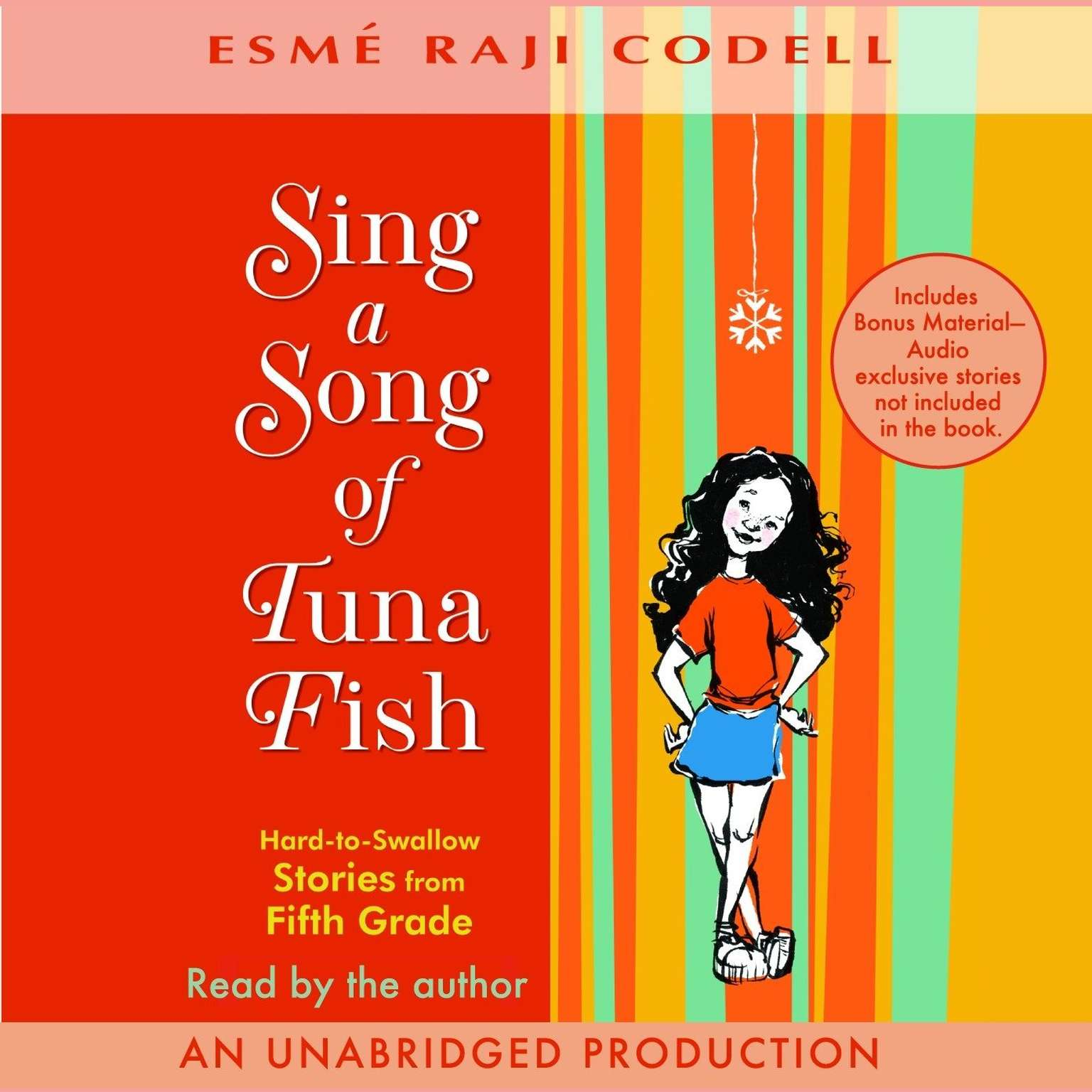 Printable Sing a Song of Tuna Fish: Hard-to-Swallow Stories from Fifth Grade Audiobook Cover Art