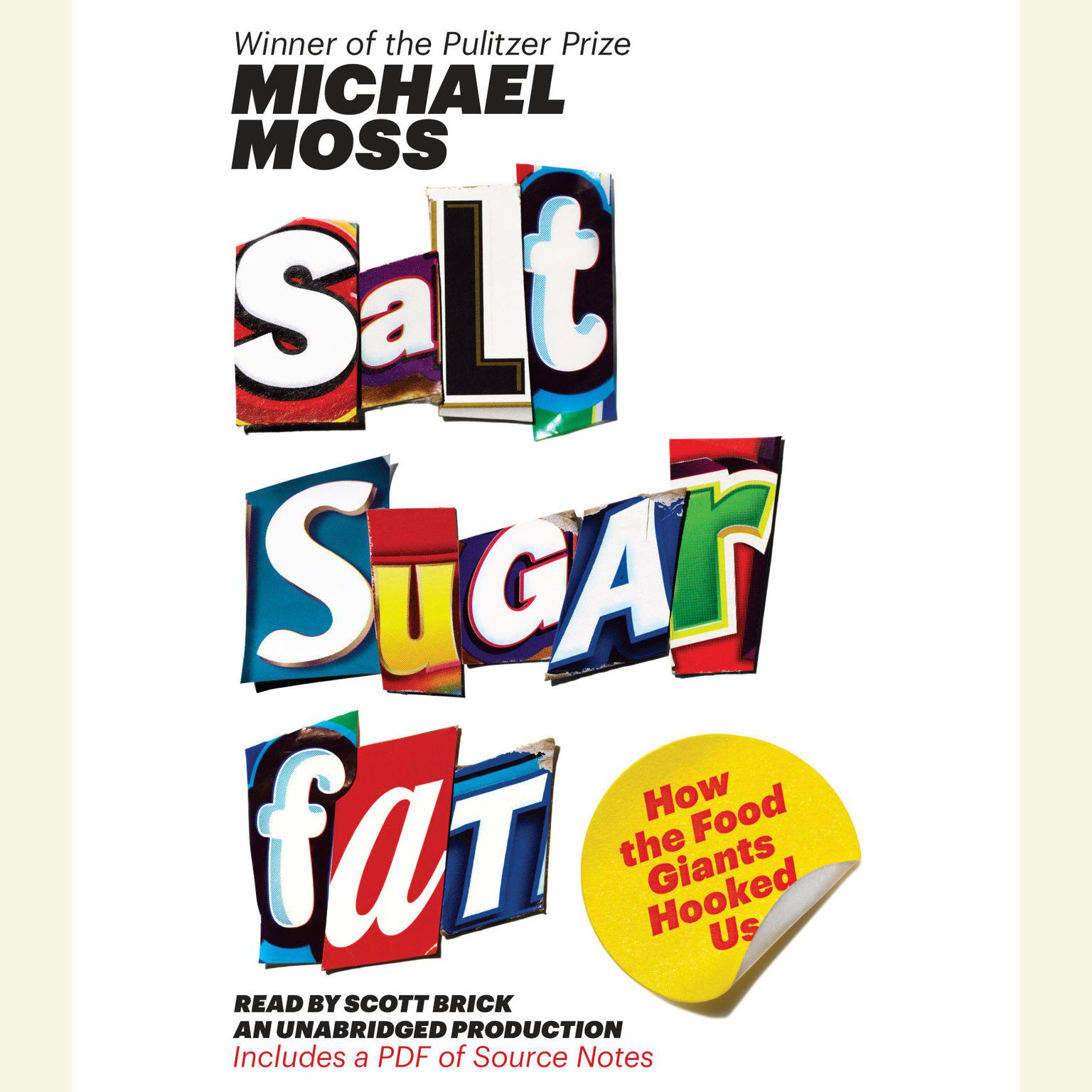 Printable Salt Sugar Fat: How the Food Giants Hooked Us Audiobook Cover Art