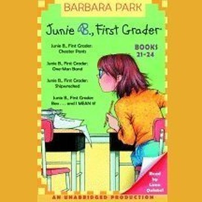 Printable Junie B. Jones Collection : Books 21-24 Audiobook Cover Art