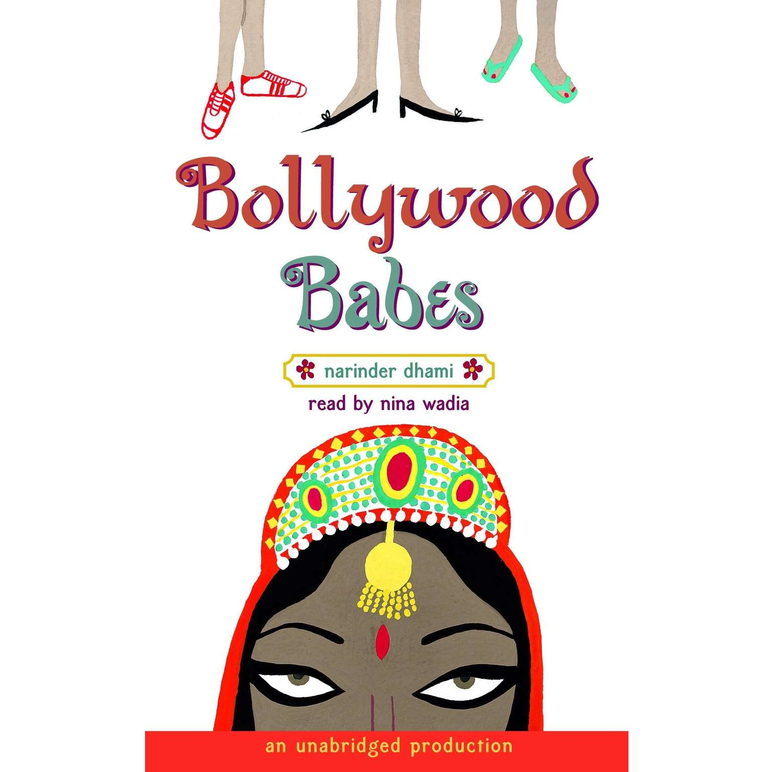 Printable Bollywood Babes Audiobook Cover Art
