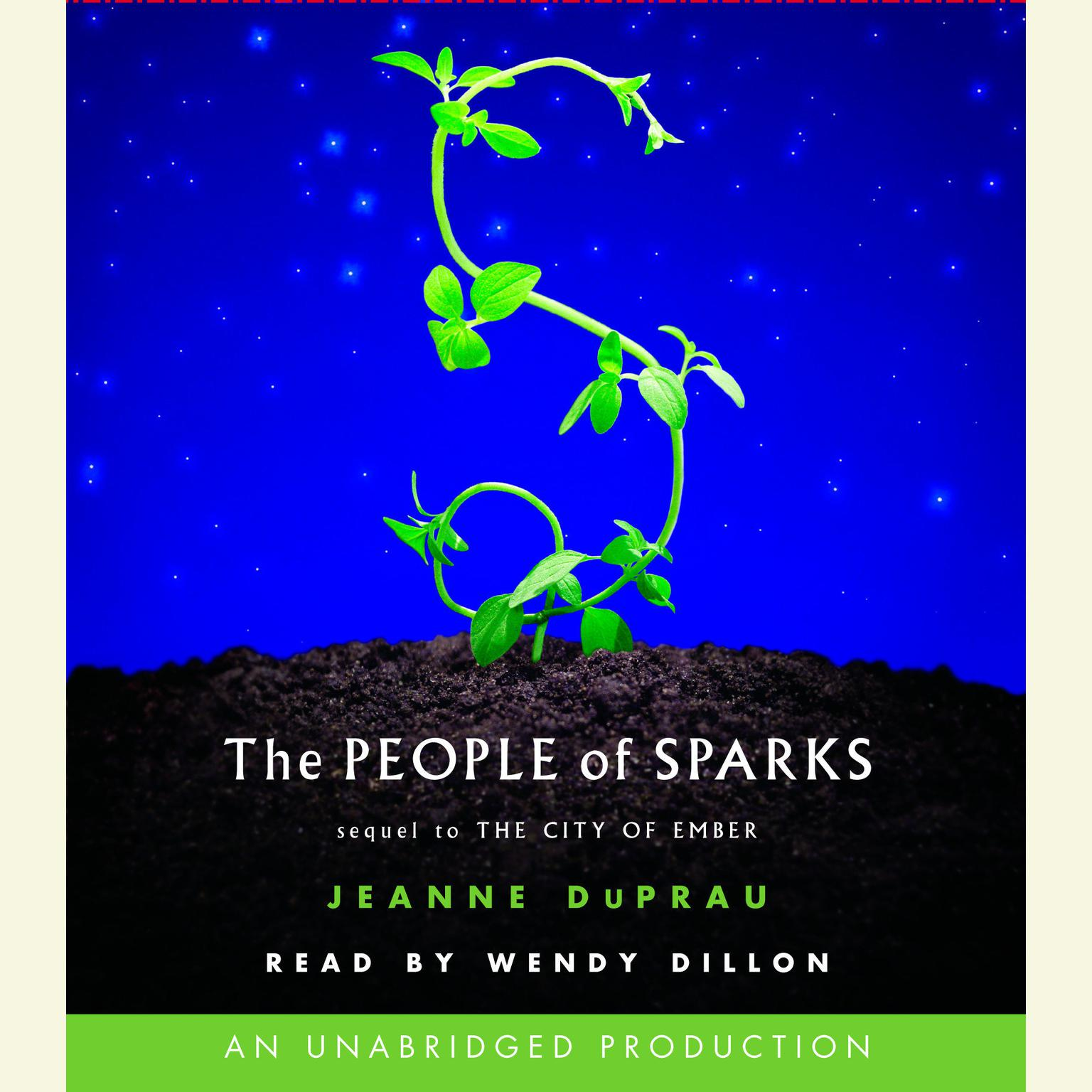 Printable The People of Sparks: The Second Book of Ember Audiobook Cover Art