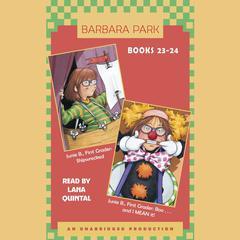 Junie B. Jones: Books 23-24: Junie B. Jones #23 and #24 Audiobook, by Barbara Park