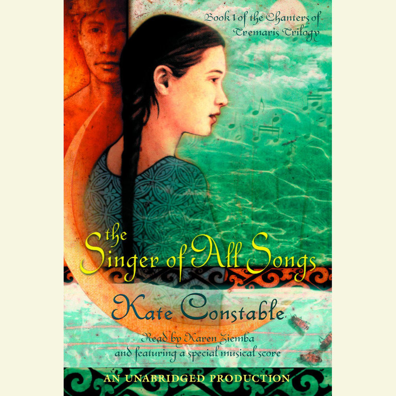 Printable The Singer of All Songs Audiobook Cover Art