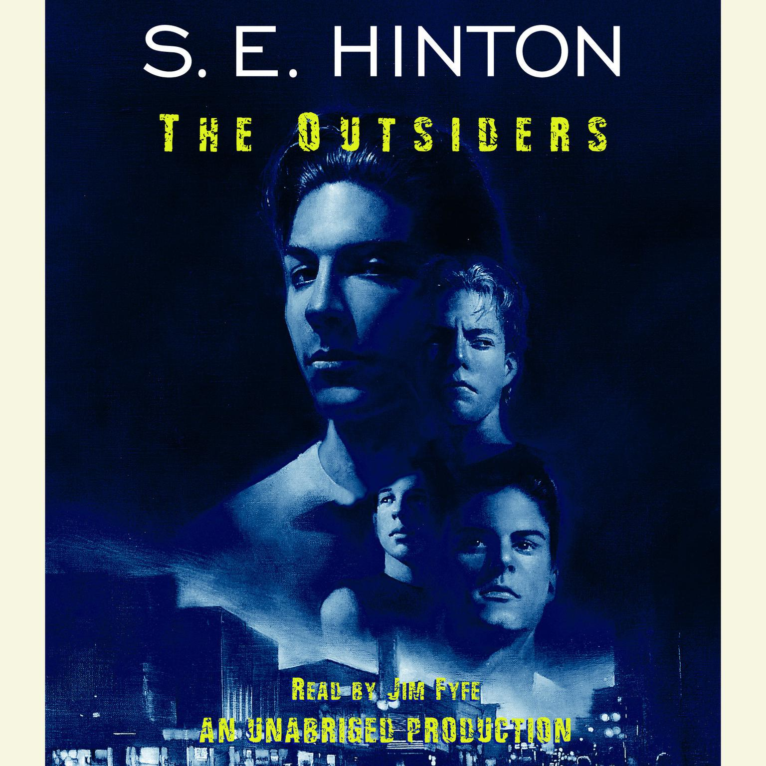 Printable The Outsiders Audiobook Cover Art