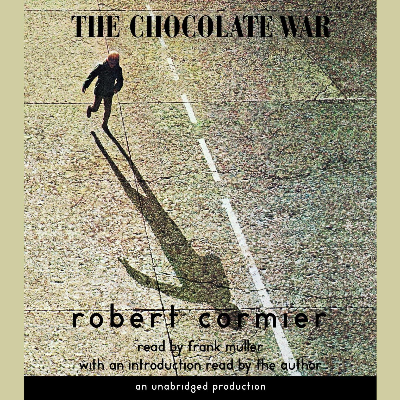Printable The Chocolate War Audiobook Cover Art