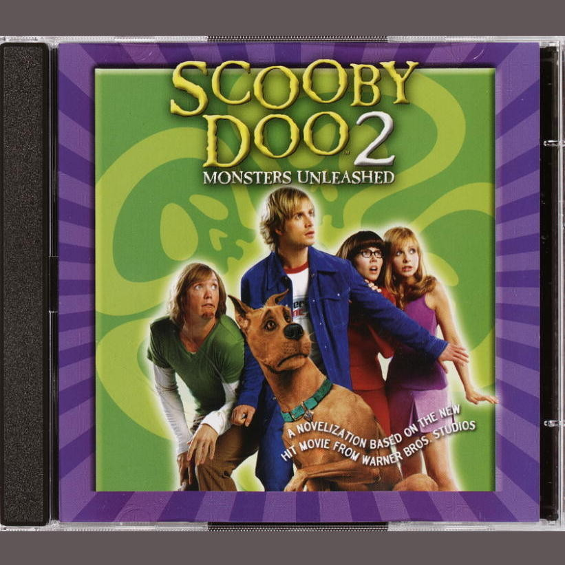 Printable Scooby Doo Movie II: Monsters Unleashed: Junior Novelization Audiobook Cover Art