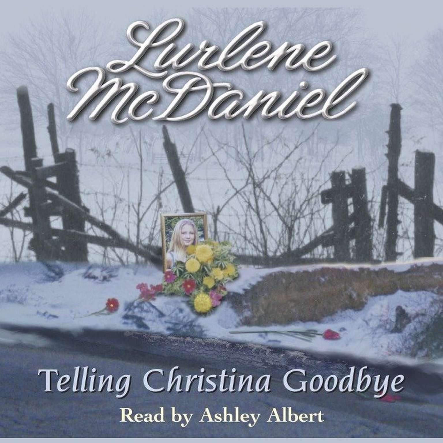 Printable Telling Christina Goodbye Audiobook Cover Art