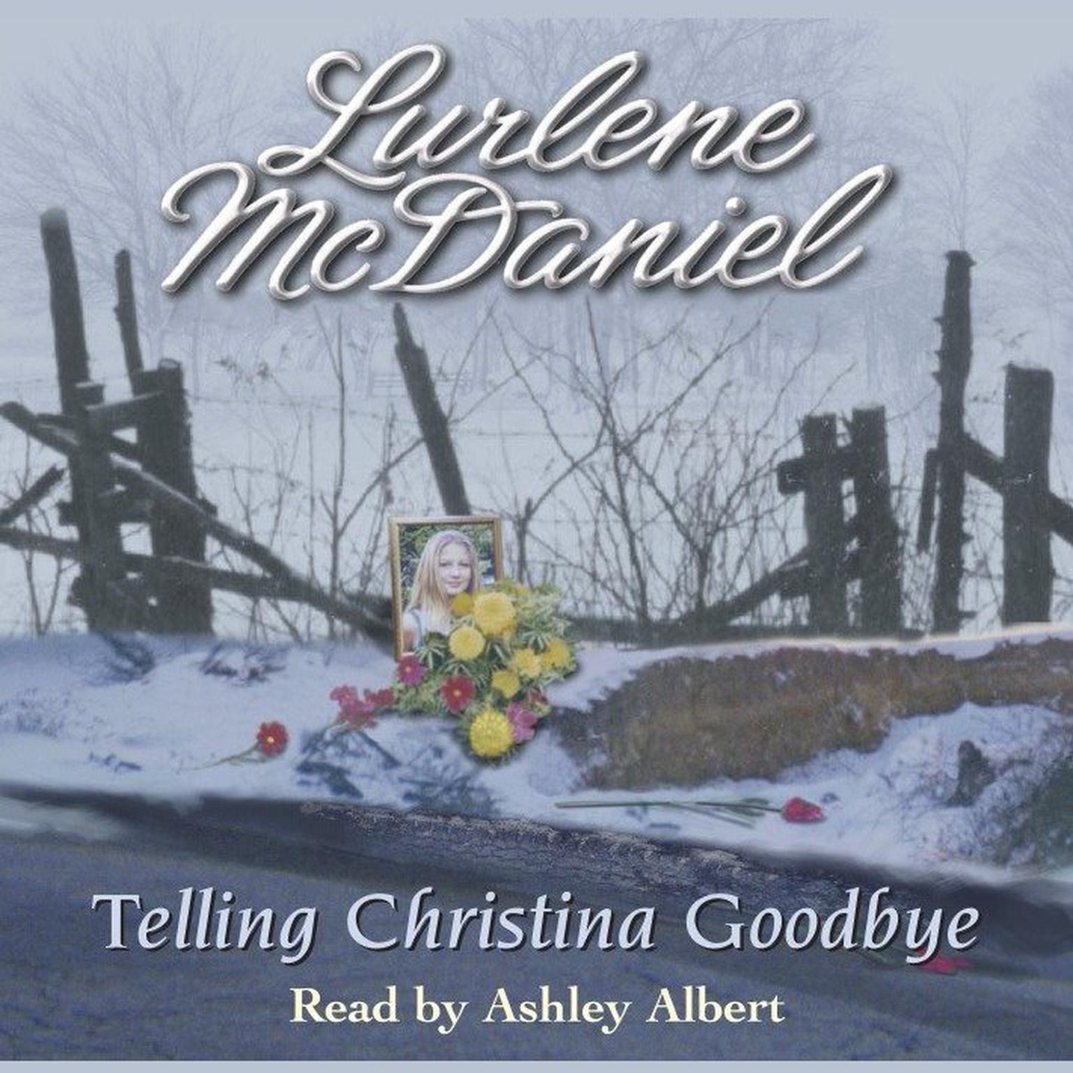 Printable Telling Christina Goodbye Audiobook Cover Art